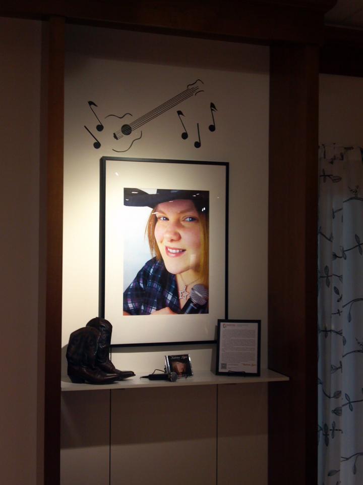 Katrina Lynn tribute display